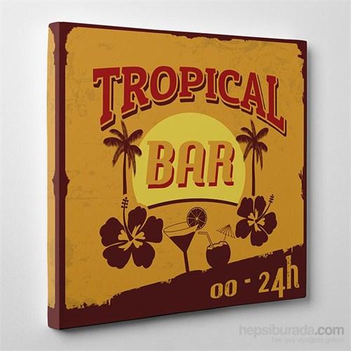 Tabloshop Tropical Bar Kanvas Tablo