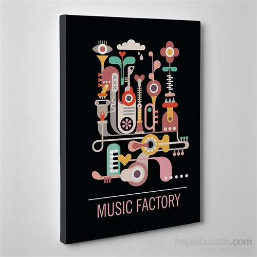 Tabloshop Music Factory Kanvas Tablo
