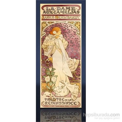 La Dame Aux Camelıas Kanvas Tablo