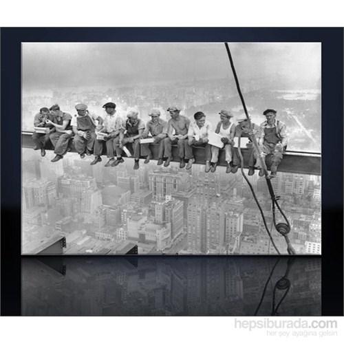 Çelik İşçileri Kanvas Tablo