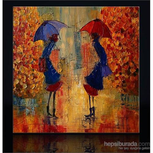 Şemsiye Kanvas Tablo