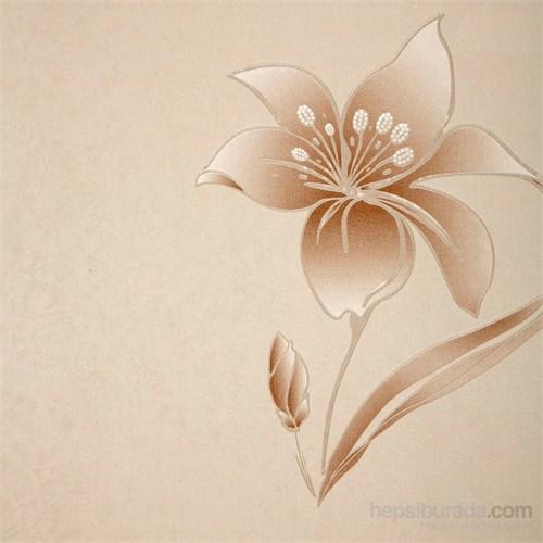 Çiçek Kesekağıdı Vinyl Duvar Kaplaması