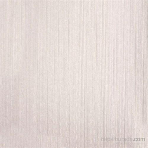 Çizgili Düz Bej Vinyl Duvar