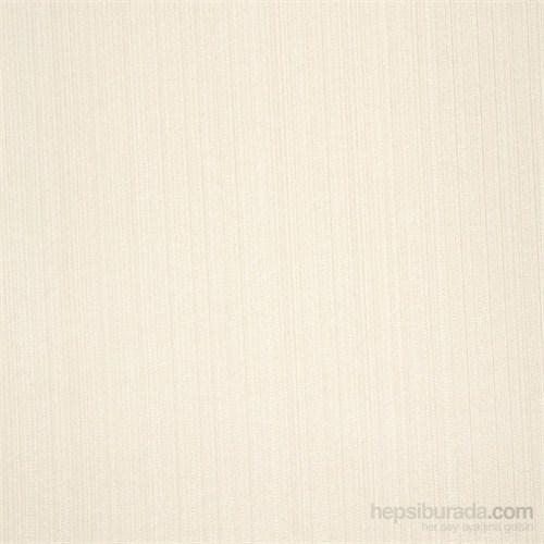 Çizgili Düz Beyaz Vinyl Duvar