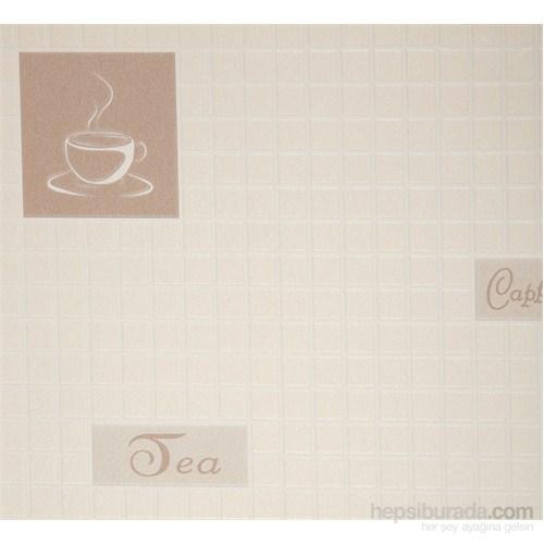 Cafe Bej Vinyl Duvar Kaplaması