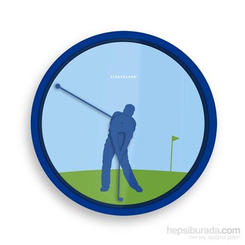 Golf Duvar Saati