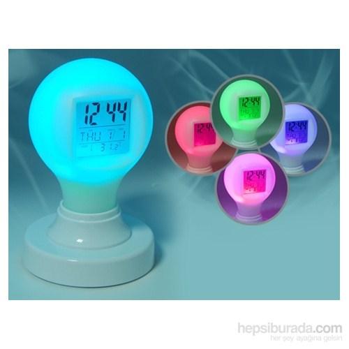 Renk Değiştiren Magic Bulb Digital Alarm Saat