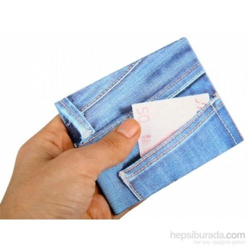 Özel Tasarım Mini Cüzdan Blue Jeans
