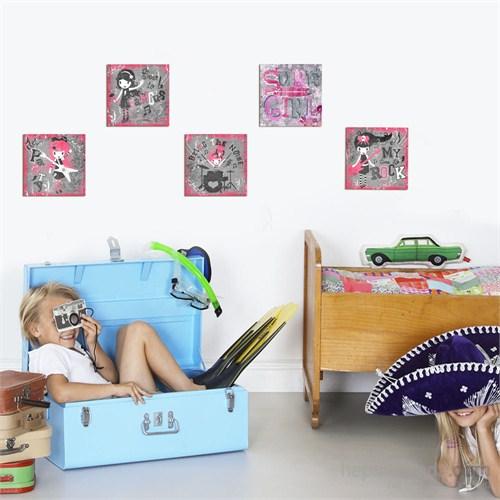 Dekoratif Çocuk Tablo Mtb001