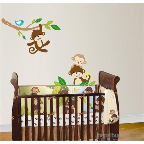 Bestasticker Ağaç Dalı Ve Maymuncuklar