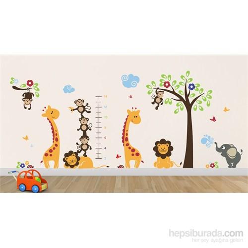 Bestasticker Ağaç Hayvanlar Boyölçer Sticker