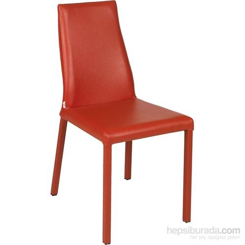 Filip-G 2 Adet Sandalye Kırmızı