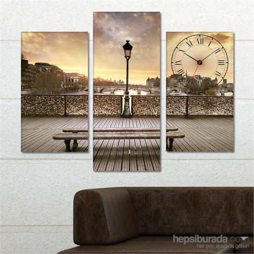 Tabloshop - Landscape Tablo Saat - 81X60cm - Çerçeve Hediye