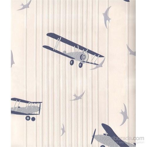 54609 Uçaklar Vınyl Duvar Kaplaması