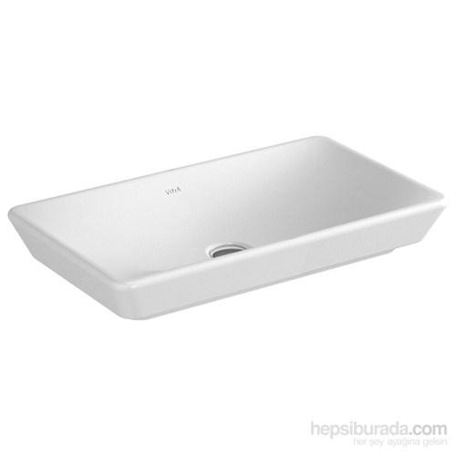 Vitra T4 Çanak Lavabo 60Cm-Beyaz (Vitra Clean)