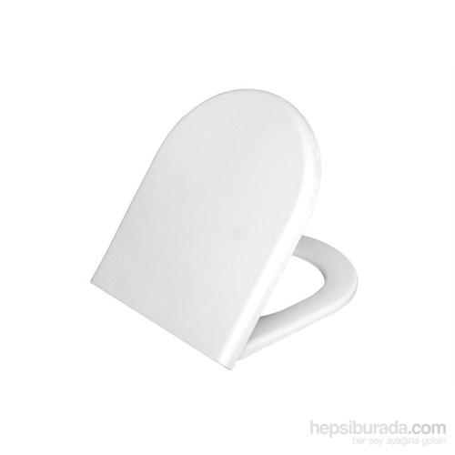 VitrA S50 Klozet Kapağı-Beyaz (Duroplast)