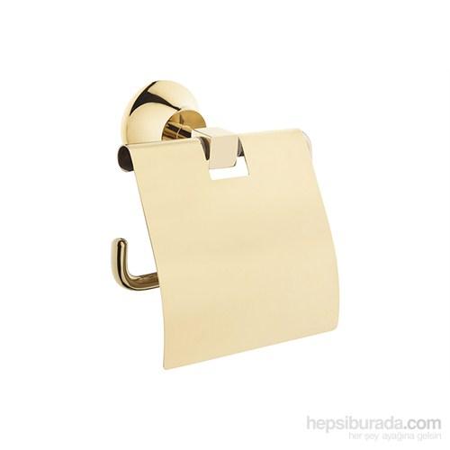 Artema Juno Gold Tuvalet Kağıtlığı-Kapaklı