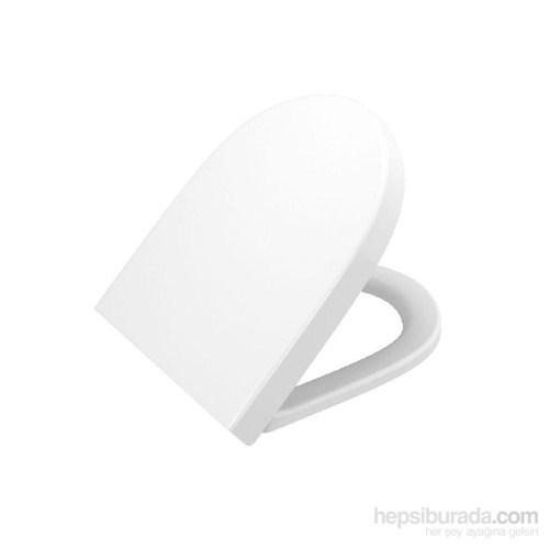 VitrA Sento Soft-Closing Klozet Kapağı-Beyaz