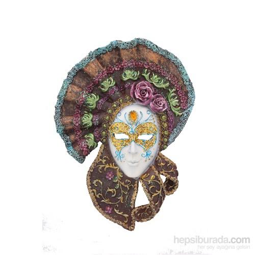 Duvar Süsü Maske Biblo