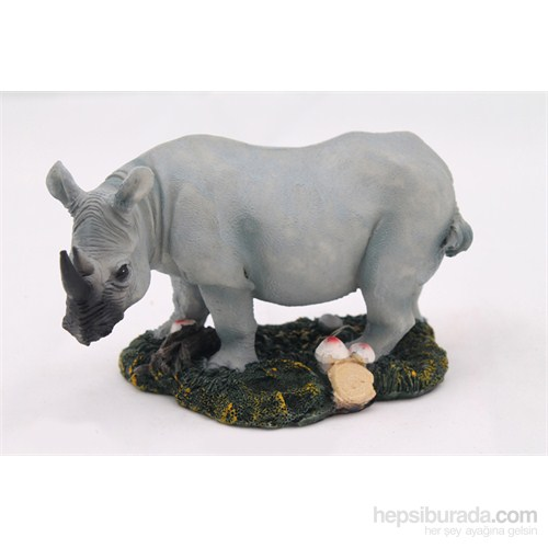 Hipopotam Figürlü Biblo