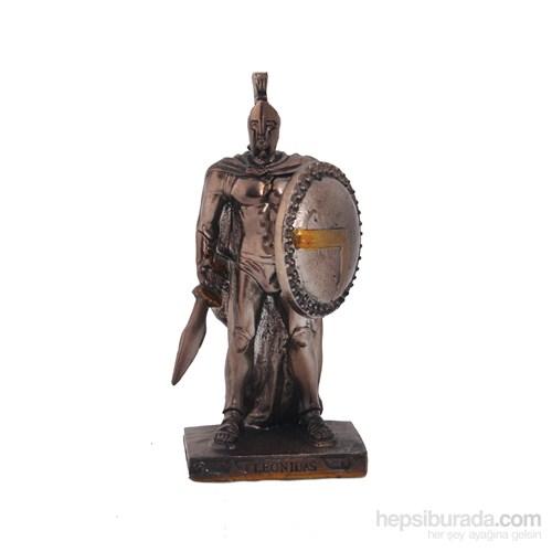 Leonidas Figürlü Biblo