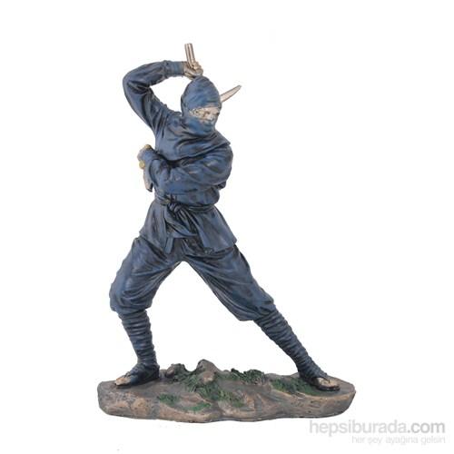 Ninja Figürlü Biblo