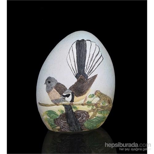 Sevimli Kuşlar Figürlü Biblo