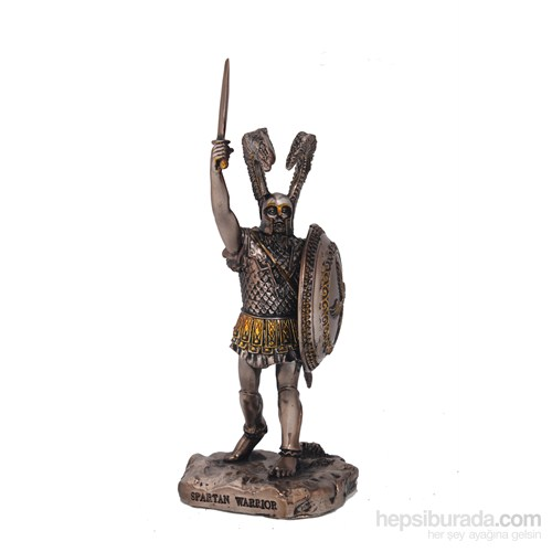 Spartan Warrior Figürlü Biblo