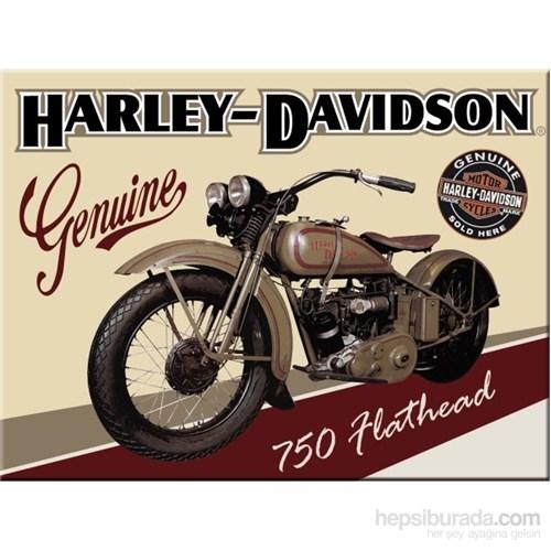 Harley Davidson Flathead Magnet
