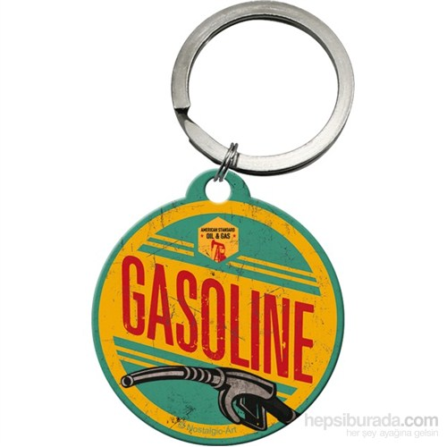 Gasoline Yuvarlak Anahtarlık