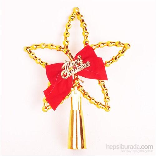 Act Yılbaşı Ağacı Tepelik Yıldız ( Sarı )