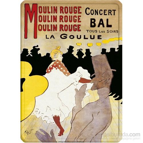 Metal Poster - Moulın Rouge 15X20cm.