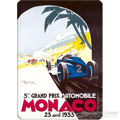 Metal Poster - Monaco 1933 Géo Ham 15X20cm.