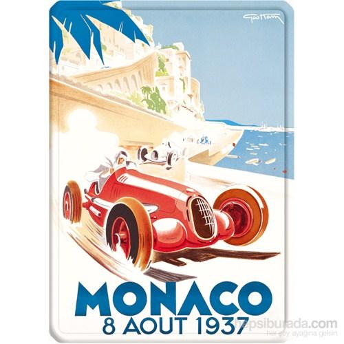 Metal Poster - Monaco 1937 Géo Ham 15X20cm.