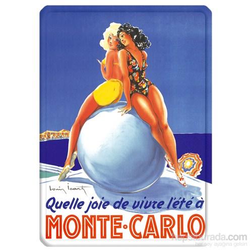 Metal Poster - Monte Carlo Vıvre L'ete 15X20cm.