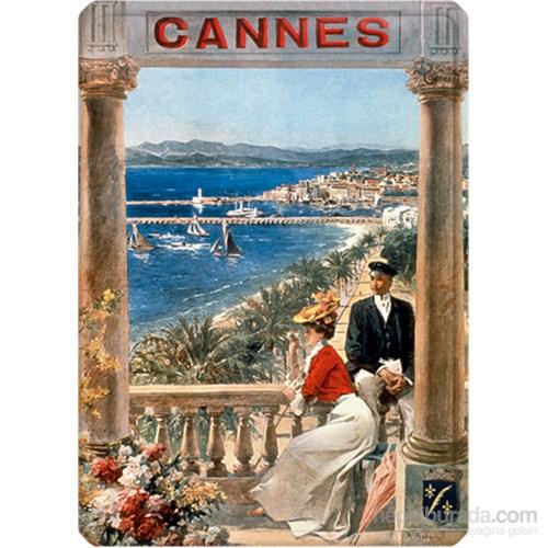 Metal Poster - Cannes Robaudı 15X20cm.