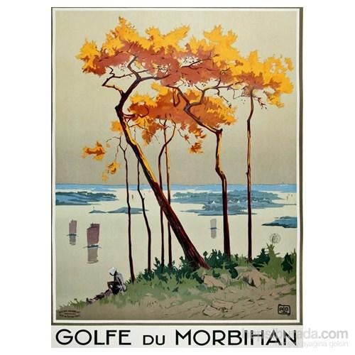 Metal Poster - Golf Du Morbıhan - Alo 15X20cm.