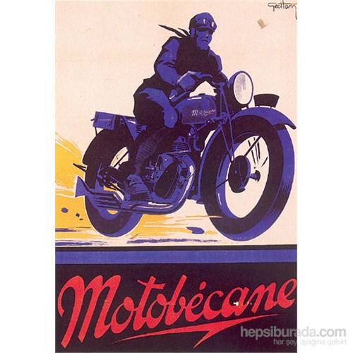 Metal Poster - Motobecane - Geo Ham 30X40cm