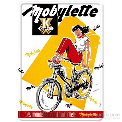 Metal Poster - Mobylette Kapteın 30X40cm