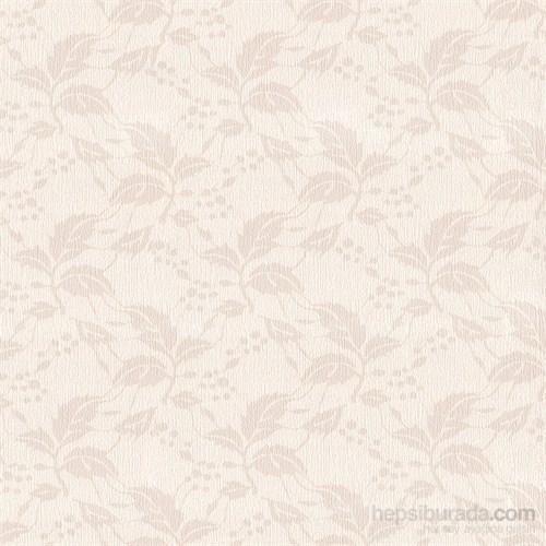 Emboss 1260 Yeni Yaprak Bej Duvar Kağıdı