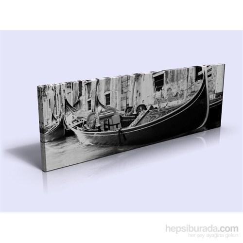 Arte Venedik Gondol Kanvas Tablo