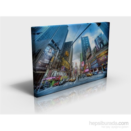 Arte Şehir Kanvas Tablo