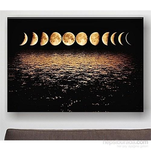 Moons At Night Kanvas Tablo