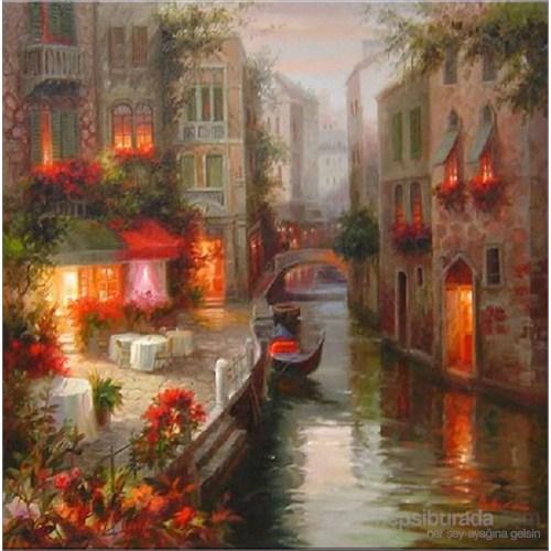 Venedik Kanvas Tablo