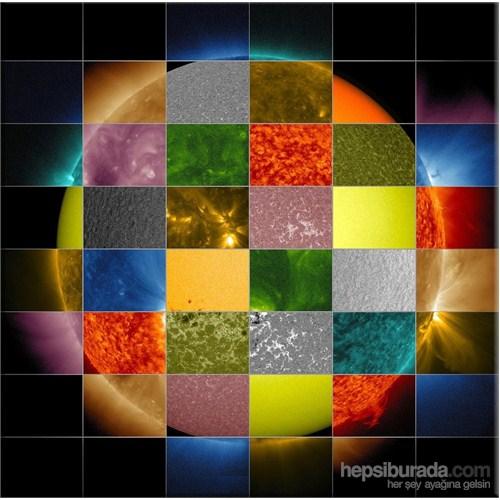 Renkli Dünya Kanvas Tablo