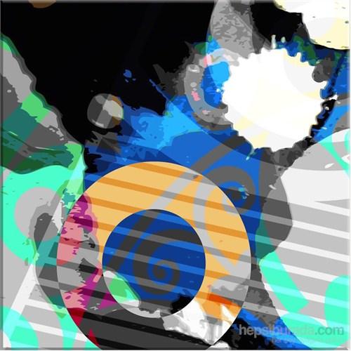 Abstrakt Kanvas Tablo