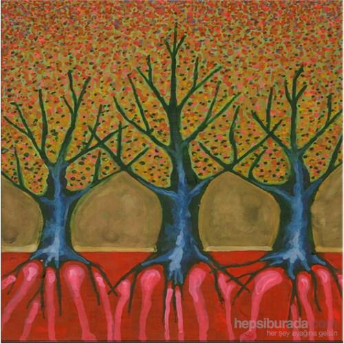 Ağaçlar Kanvas Tablo