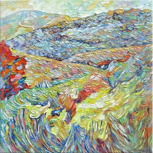Dağlar Kanvas Tablo