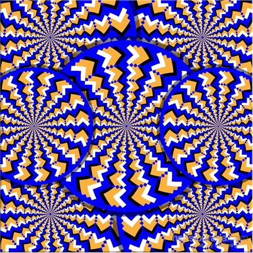 Optik İizyon Kanvas Tablo