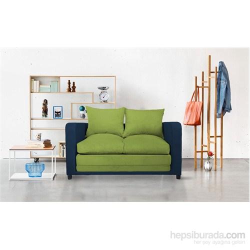 Soli Kanepe Lacivert - Yeşil - Yeşil